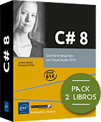 C# 8 - Pack 2 libros - Domine el desarrollo con Visual Studio 2019