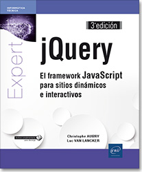 jQuery - El framework JavaScript para sitios dinámicos e interactivos (3ª edición), libro jquery , CSS , DOM , AJAX , plugin , focusin , focusout , LNEIT4JQU