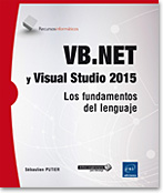 VB.NET y Visual Studio 2015, libro VB, microsoft, .net, linq, dot net, VS, ado, ado.net, SQL, framework, Programación Orientada a Objetos, click once, poo, Visual Studio, Visualstudio