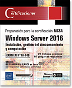 Microsoft - certificación - 70-740 - MCSA - Nano Server - Hyper-V - Containers - Contenedores - alta disponibilidad - clúster - load balancing - LNCET16WINIST