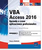 VBA Access 2016, microsoft, libro VBA, vb, access vba, macro, macro-comando, visual basic, sql, adodb, dao, odbc, consulta, consultas